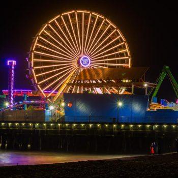 Santa Monica Pier - Sean Curran - Photo Print #2