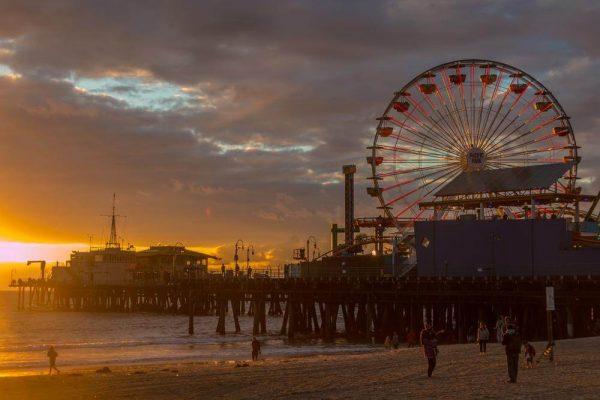 Santa Monica Pier - Sean Curran - Photo Print #1