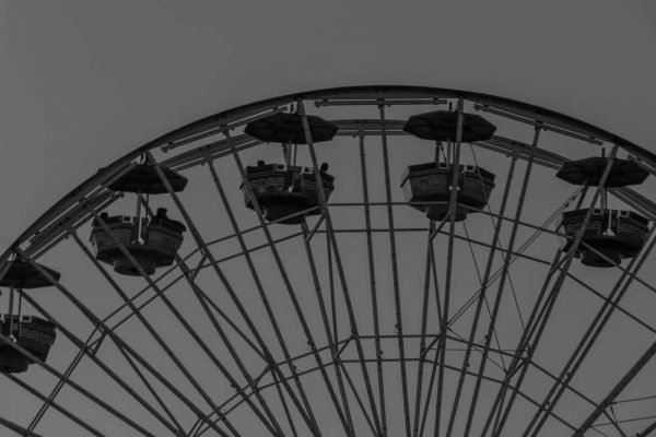 Santa Monica Ferris Wheel - Sean Curran - Photo Print #4