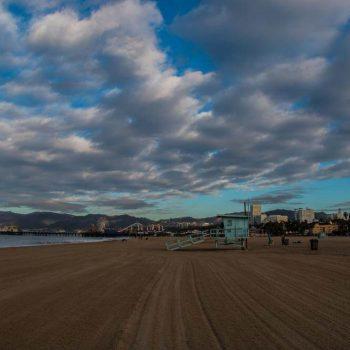 Santa Monica Beach - Sean Curran - Photo Print #2