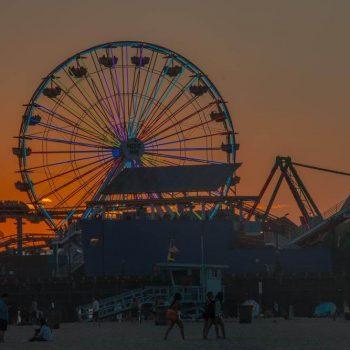 Santa Monica Pier - Sean Curran - Photo Print #3