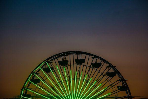 Santa Monica Ferris Wheel - Sean Curran - Photo Print #3