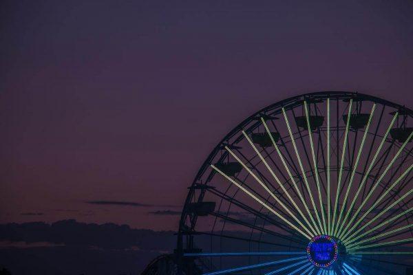 Santa Monica Ferris Wheel - Sean Curran - Photo Print #1