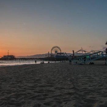 Santa Monica Beach - Sean Curran - Photo Print #1