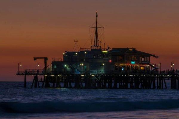 Santa Monica Pier - Sean Curran - Photo Print #5