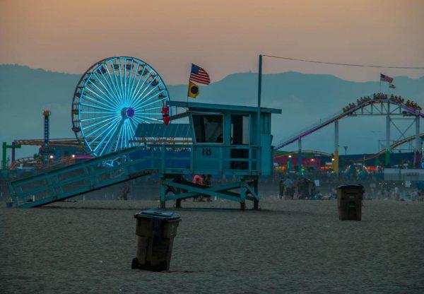 Santa Monica Pier - Sean Curran - Photo Print #4