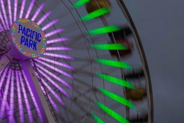 Santa Monica Ferris Wheel - Sean Curran - Photo Print #2