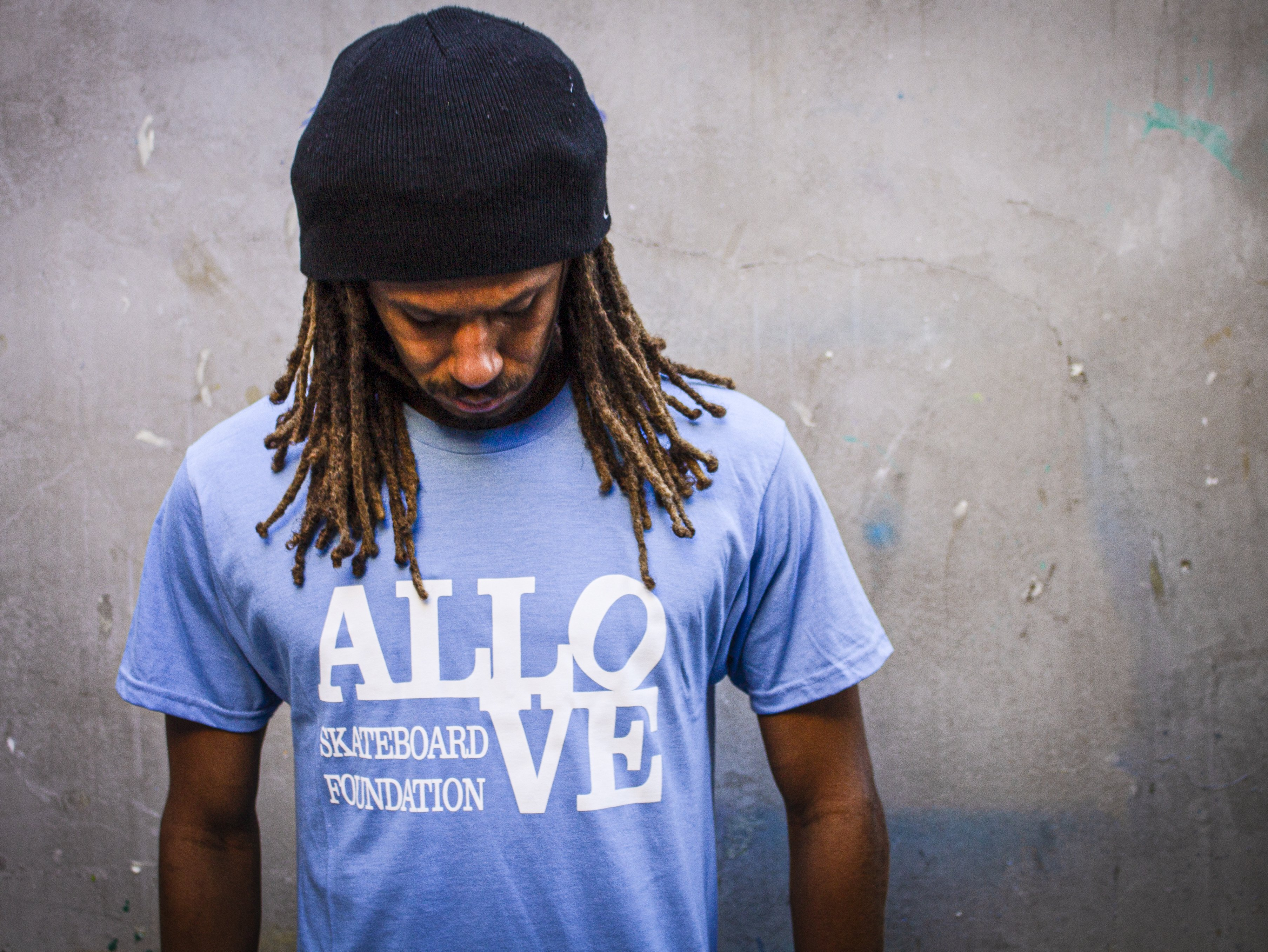 ALLOVE Foundation T-Shirt -- Baby Blue