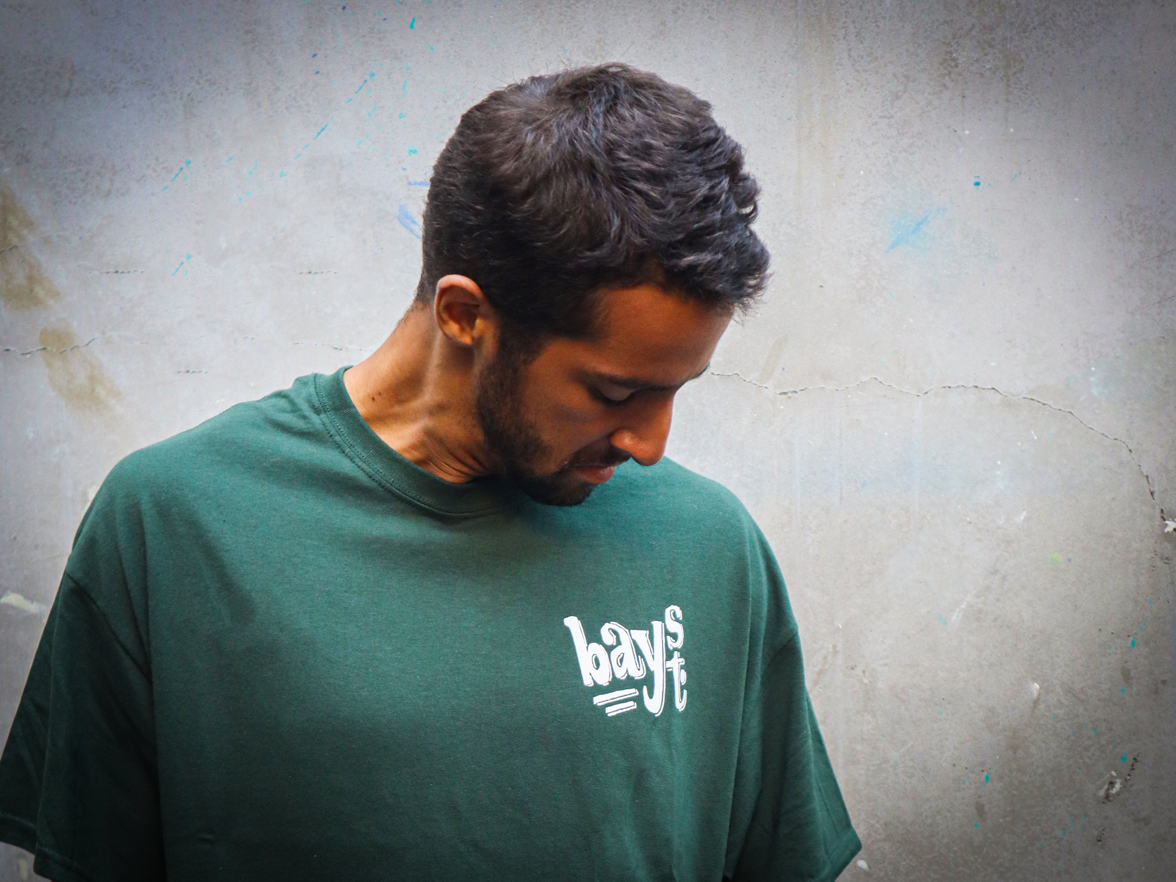 """Bay Street """"Bicycle"""" T-Shirt -- Forest Green"""