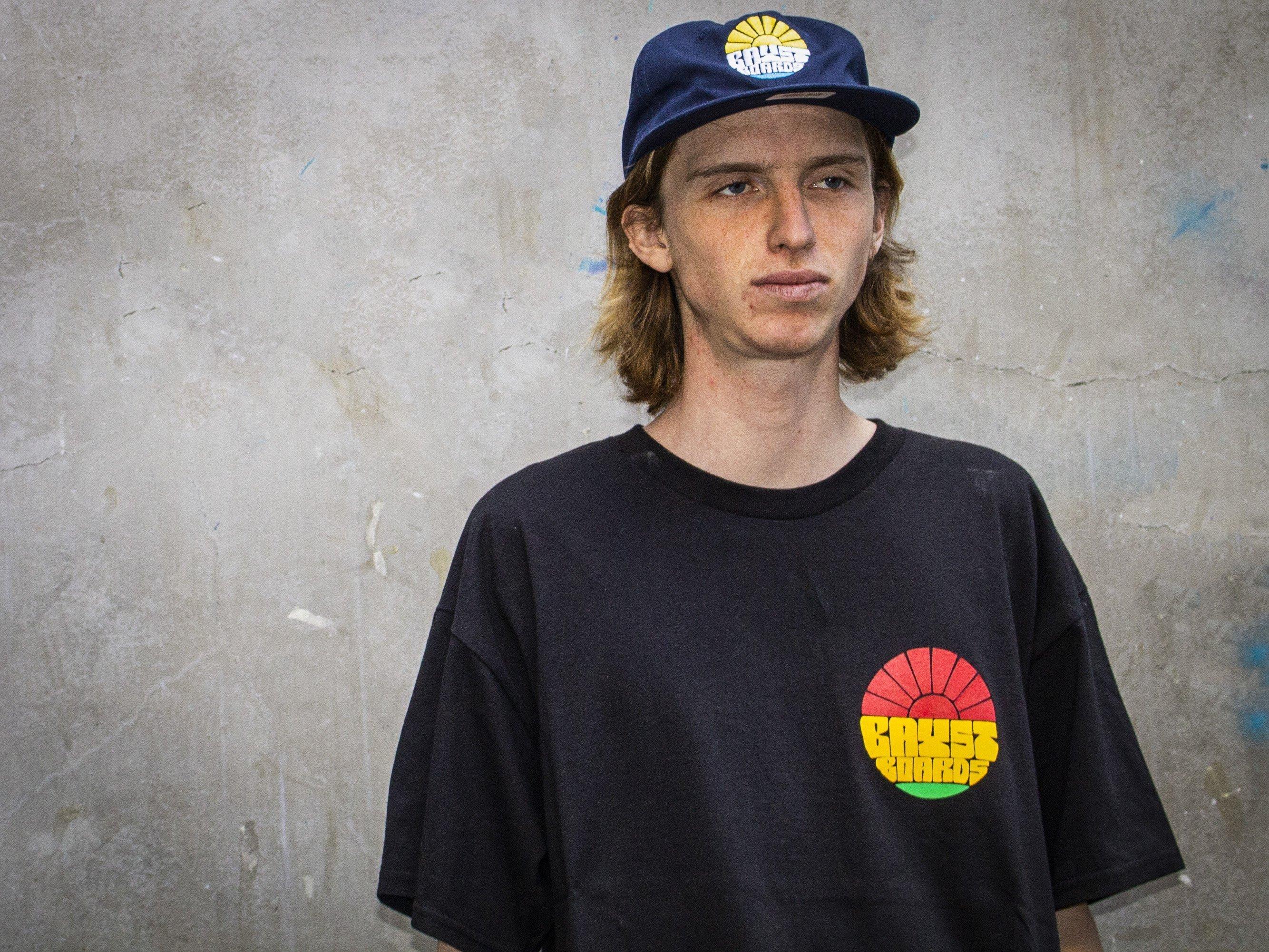 """Bay Street """"Sun Bay"""" T-Shirt -- Rasta"""