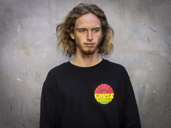 """Bay Street """"Sun Bay"""" LS T-Shirt -- Rasta"""